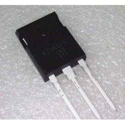 RJH60F5. Transistor IGBT. TO-247, 600V/80A. Pack 2 unidades.