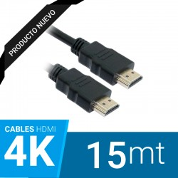 Cable HDMI 4k v2.0 15 Metros