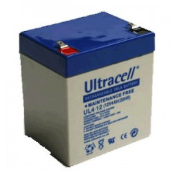 Bateria ULTRACELL 12v 4,5 A. Bateria recargable