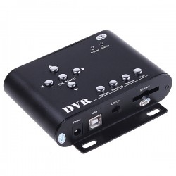 DVR Móvil 2 canales, D1,30FPS,audio IN